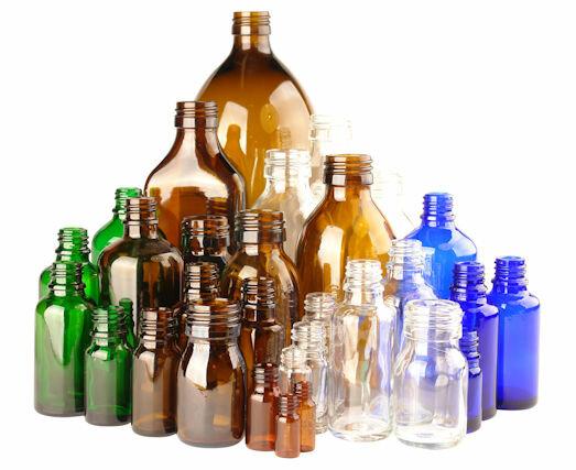 Glazen-Flessen