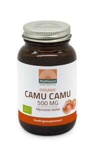 Mattisson Biologische Camu Camu 500mg vegetarische capsules