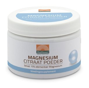 Mattisson Magnesium Citraat Poeder