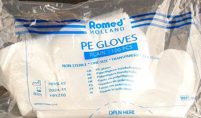 Polyethyleen Handschoenen Romed