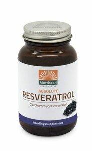Mattisson Absolute Resveratrol 98% Veri-te™ 350mg capsules