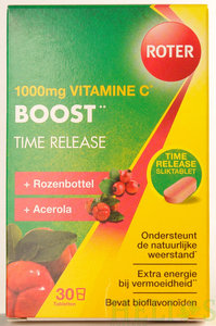 Vitamine C 1000 mg Pro Boost Time Released - Roter