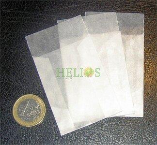 pergamijn zakjes postzegelzakjes