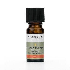 biologische zwarte peper olie
