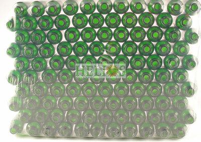 Flesjes 30ml groen voordelige TRAY