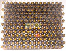 Flesjes 10ml  amber voordelige TRAY