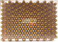 Flesjes 15ml  amber voordelige TRAY